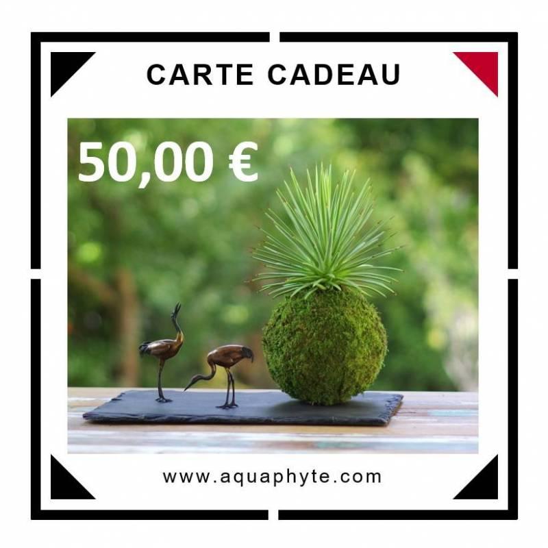 Carte Cadeau Aquaphyte 50 euros
