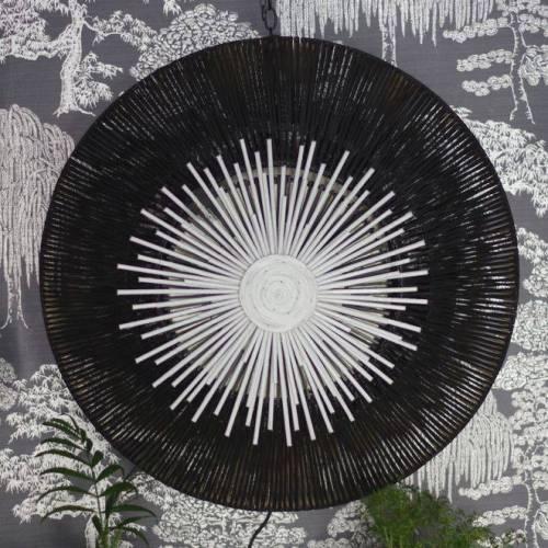 Lampe Bambou UFO